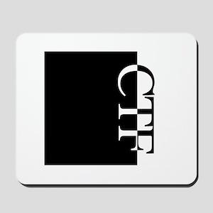 CTF Typography Mousepad