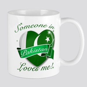 Pakistan Flag Design Mug