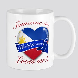 Philippines Flag Design Mug