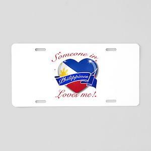 Philippines Flag Design Aluminum License Plate