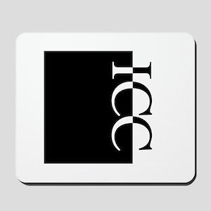 ICC Typography Mousepad