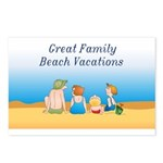 Family Vacations Postcards (Package of 8)