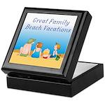 Family Vacations Keepsake Box