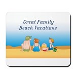 Family Vacations Mousepad