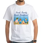 Family Vacations White T-Shirt