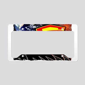 battle of the planets License Plate Holder