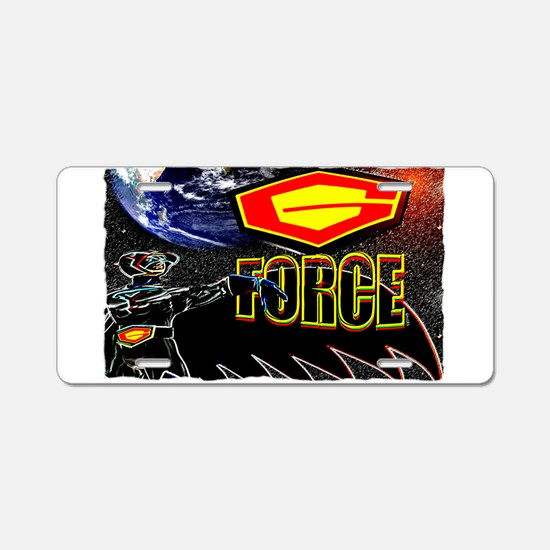 battle of the planets Aluminum License Plate