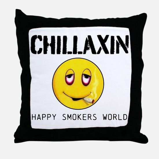 Chillaxin Throw Pillow