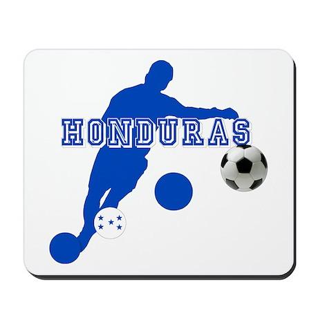 Honduras Soccer Player Mousepad