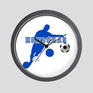 Honduras Soccer Player Wall Clock