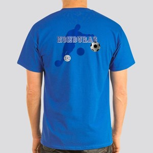 Honduras Soccer Player Dark T-Shirt