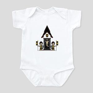 Princess and Black Knights Infant Bodysuit