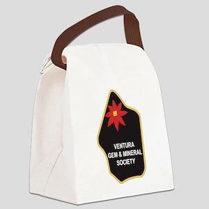 VGMS Logo Canvas Lunch Bag