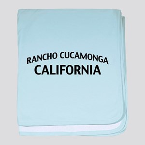Rancho Cucamonga California baby blanket