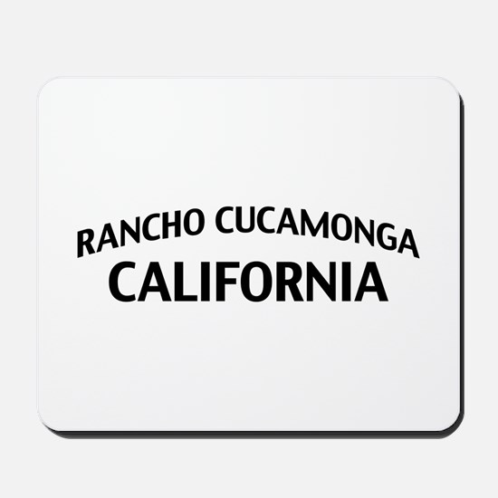 Rancho Cucamonga California Mousepad