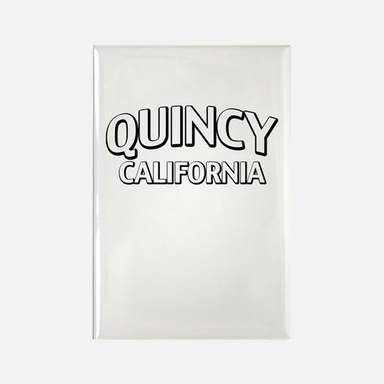 Quincy California Rectangle Magnet