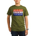 Re-Elect Client No. 9 Organic Men's T-Shirt (dark)