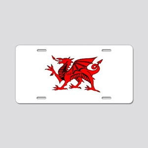 Wales Rugby Designed Aluminum License Plate