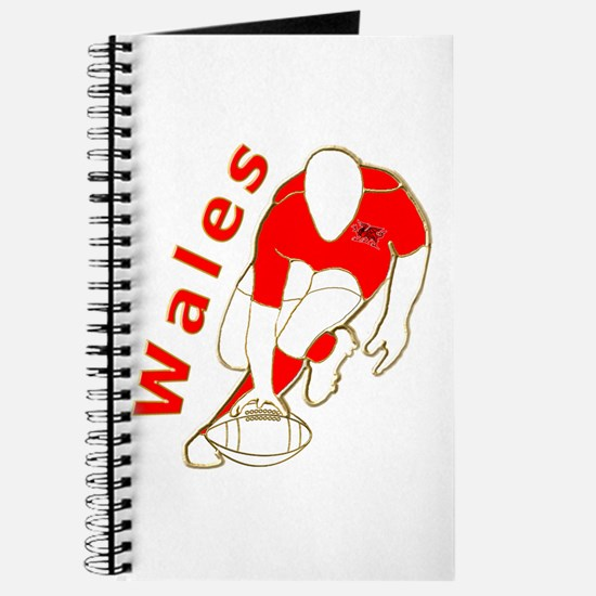Wales Rugby Designed Journal