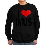 I Love Imus Sweatshirt (dark)