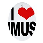 I Love Imus Ornament (Oval)