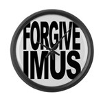 Forgive Imus Large Wall Clock