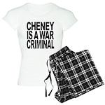 Cheney Is A War Criminal Women's Light Pajamas