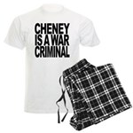 Cheney Is A War Criminal Men's Light Pajamas