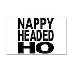 Nappy Headed Ho Original Desi Car Magnet 20 x 12