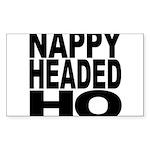 Nappy Headed Ho Original Desi Sticker (Rectangle 1