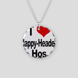 I Love Nappy-Headed Necklace Circle Charm