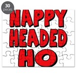 Nappy Headed Ho Red Design Puzzle