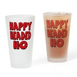 Nappy Headed Ho Red Design Drinking Glass