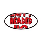 Nappy Headed Ho Red Design Patches
