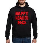 Nappy Headed Ho Red Design Hoodie (dark)