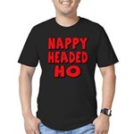 Nappy Headed Ho Red Design Men's Fitted T-Shirt (d