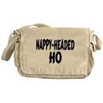 Nappy Headed Ho Brush Design Messenger Bag