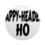 Nappy Headed Ho Brush Design Ornament (Round)