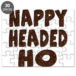 Nappy Headed Ho Hairy Design Puzzle