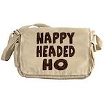 Nappy Headed Ho Hairy Design Messenger Bag