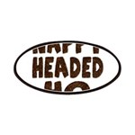 Nappy Headed Ho Hairy Design Patches