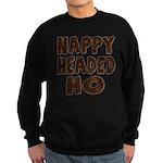 Nappy Headed Ho Hairy Design Sweatshirt (dark)