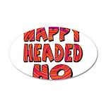 Nappy Headed Ho Hypnotic Desi 22x14 Oval Wall Peel