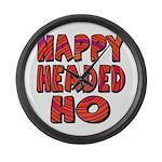 Nappy Headed Ho Hypnotic Desi Large Wall Clock