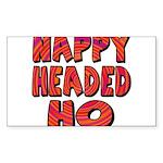 Nappy Headed Ho Hypnotic Desi Sticker (Rectangle 1