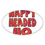 Nappy Headed Ho Hypnotic Desi Sticker (Oval 50 pk)