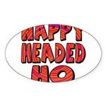 Nappy Headed Ho Hypnotic Desi Sticker (Oval 10 pk)