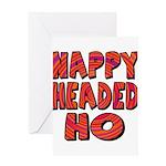 Nappy Headed Ho Hypnotic Desi Greeting Card