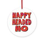Nappy Headed Ho Hypnotic Desi Ornament (Round)