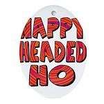Nappy Headed Ho Hypnotic Desi Ornament (Oval)